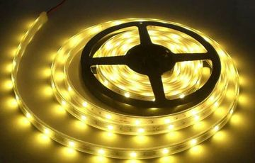 Led strip warm wit 5M complete set