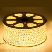 LED Strip 230 Volt - 2700K Warm Wit - IP66 - 60xSMD5050/m