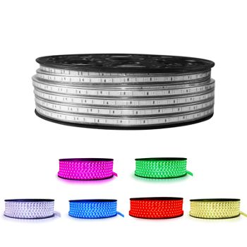 LED Strip 230 Volt - RGB - IP66 - 60xSMD5050/m
