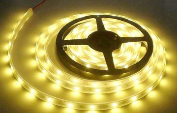LED Strip 12 Volt - 4000K - 5 meter - Dimbaar - IP65