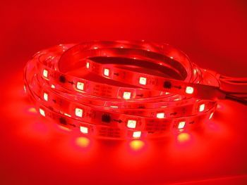 LED Strip DC24 Volt - Rood - 5 meter - 14,4W/m - SMD5050 -