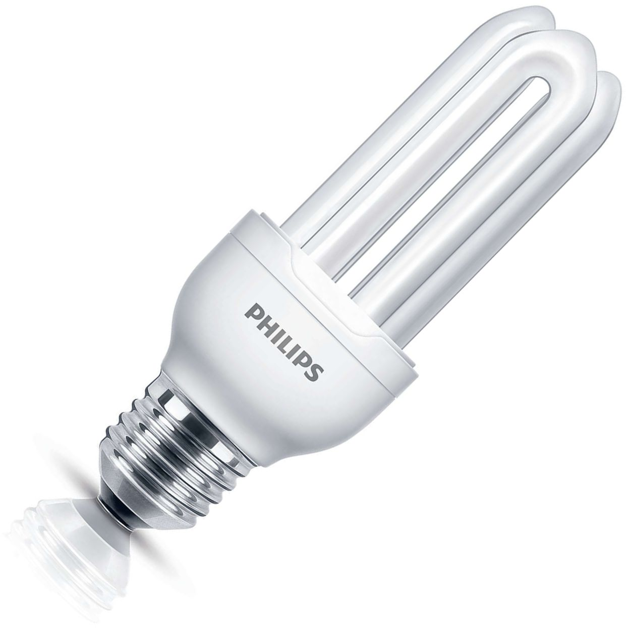 Philips genie spaarlamp buis 23W (vervangt 125W) grote fitting E27