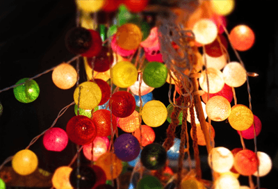 Spiksplinternieuw De leukste lichtsnoeren met bolletjes lampjes   Lampen KI-62