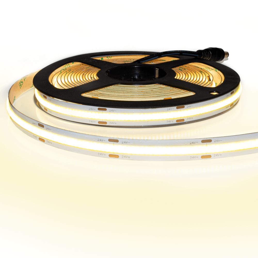 Led strip COB Warm Wit - 3 meter - losse strip met 1512 leds