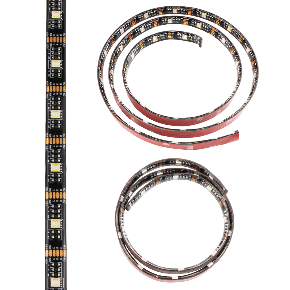 USB led strip RGBWW van 30 cm losse strip