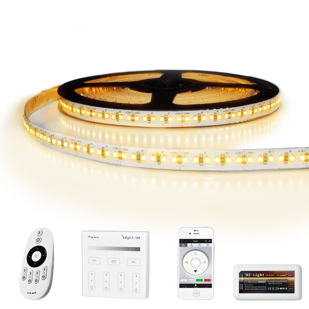 18 meter led strip Warm Wit Pro - complete set