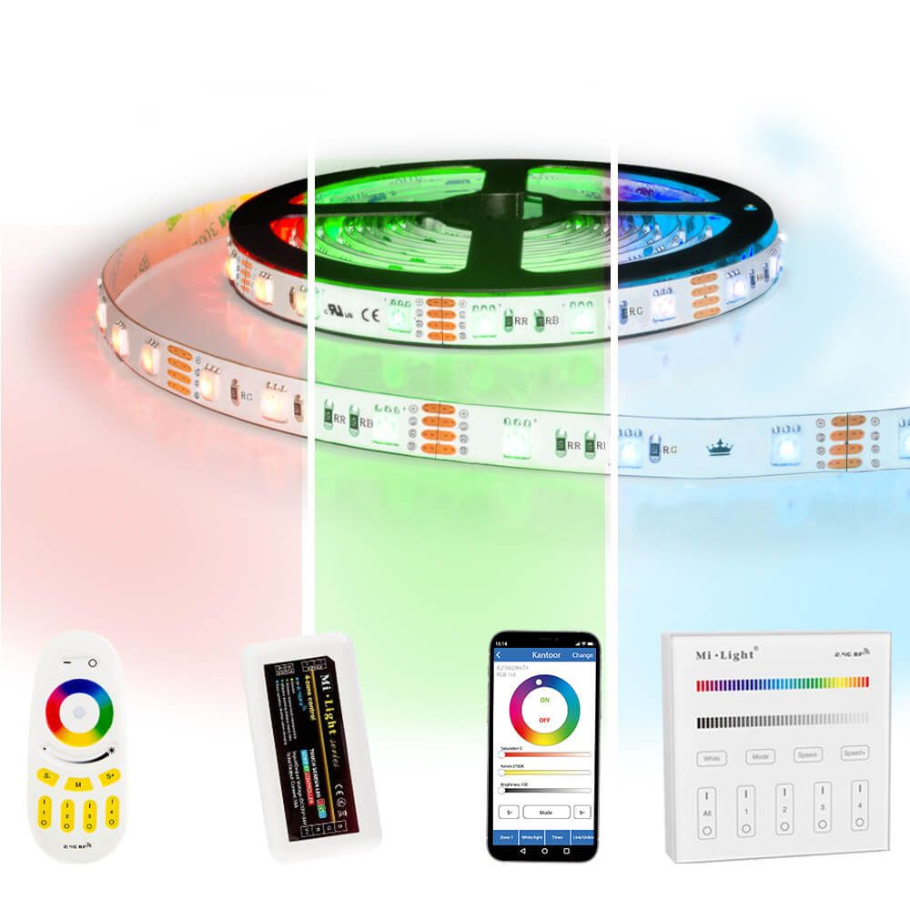 19 meter RGB led strip complete set - 1140 leds
