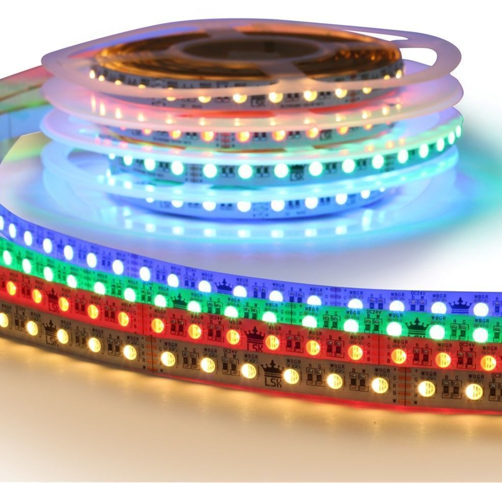 4 meter RGBW led strip Premium met 288 leds - losse strip