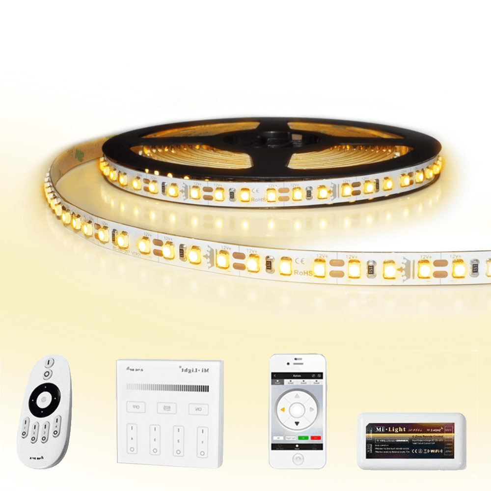 22 meter led strip Warm Wit complete set - Premium 2640 leds