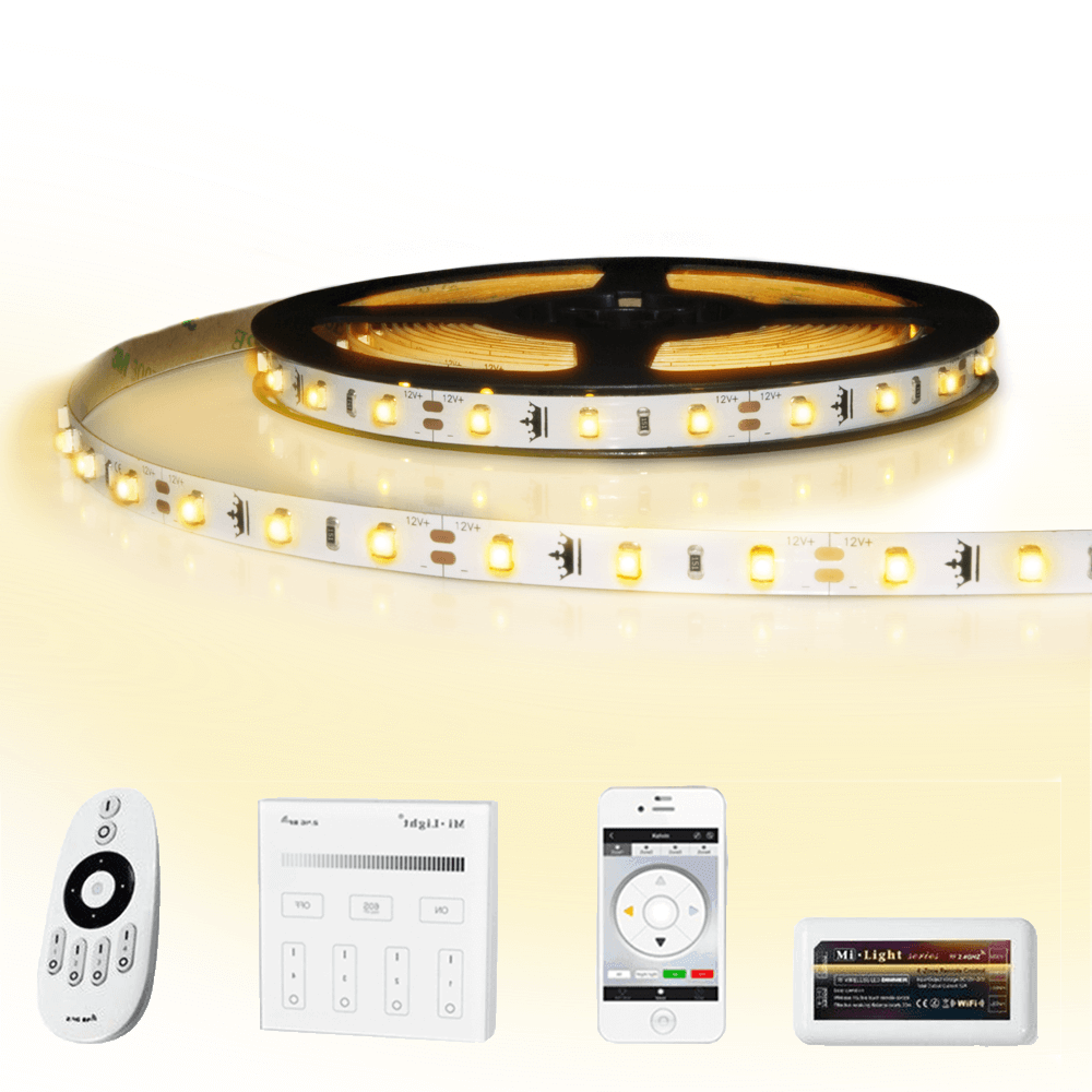 23 meter led strip Warm Wit complete set - Basic 1380 leds