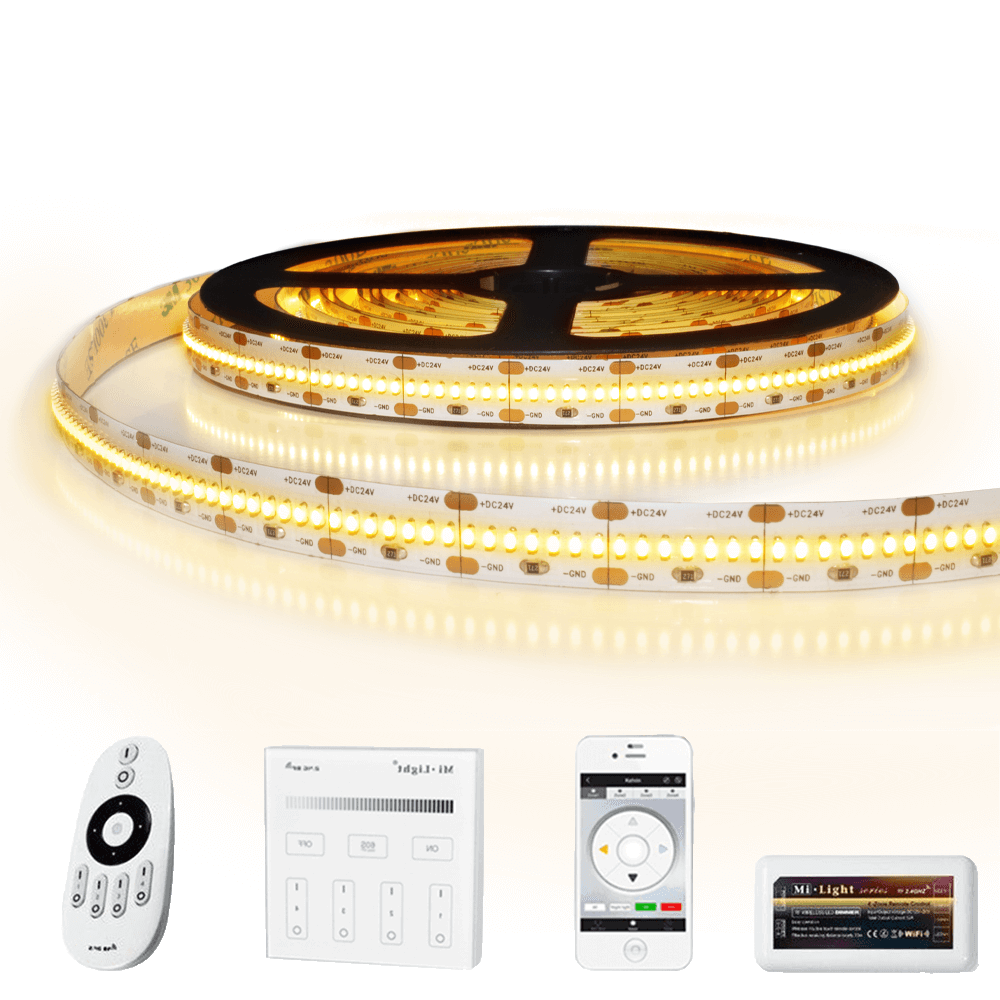 35 meter led strip Warm Wit Pro 420 - complete set