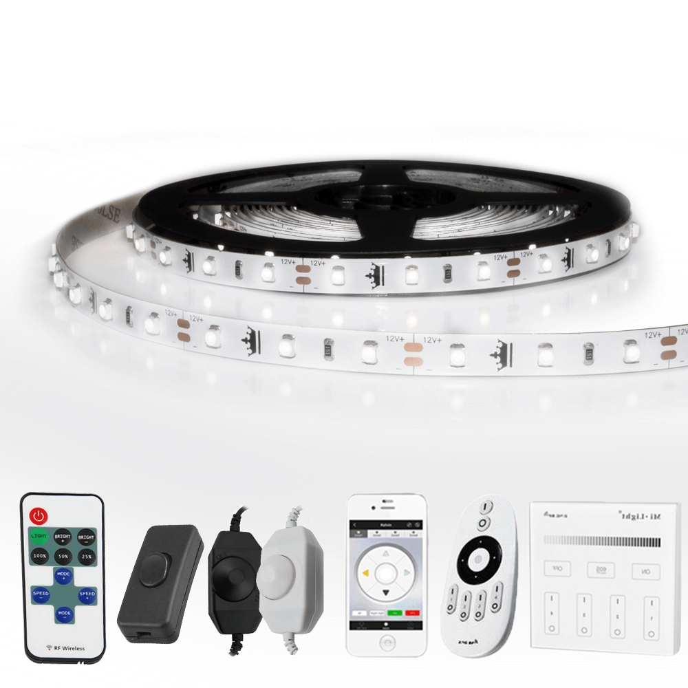3 METER - 180 LEDS complete led strip set Koud Wit