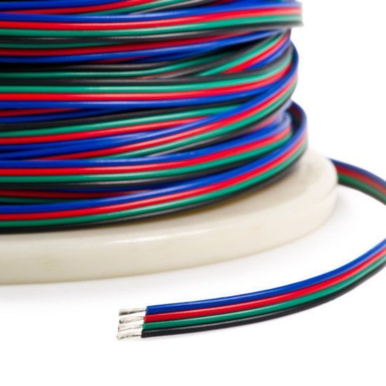 7,5 meter losse RGB kabel