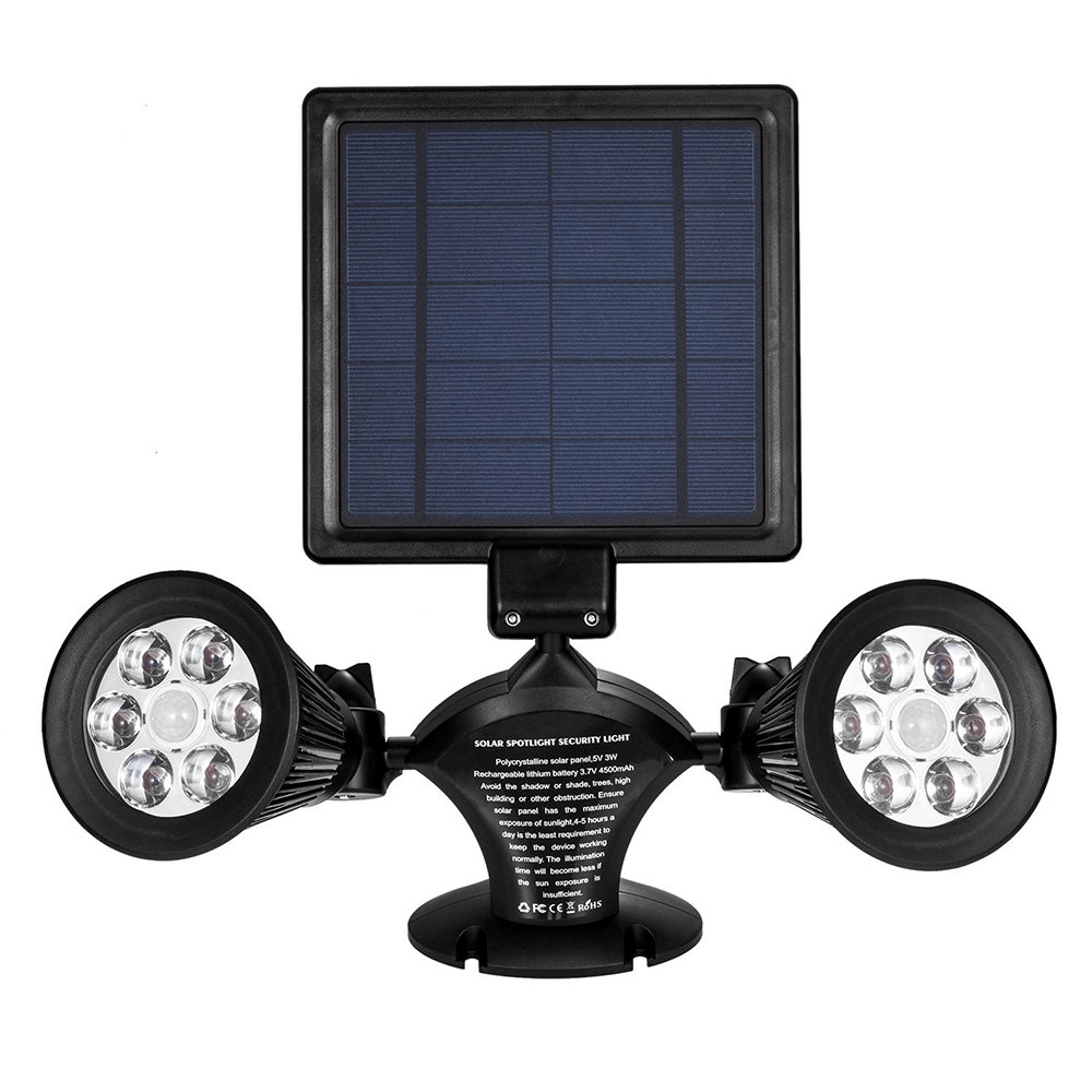 Solar LED lamp Look met bewegingssensor