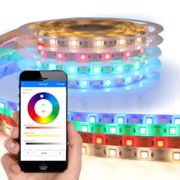 RGBW Basic led strip set met Wifi module 1 tot 10 meter