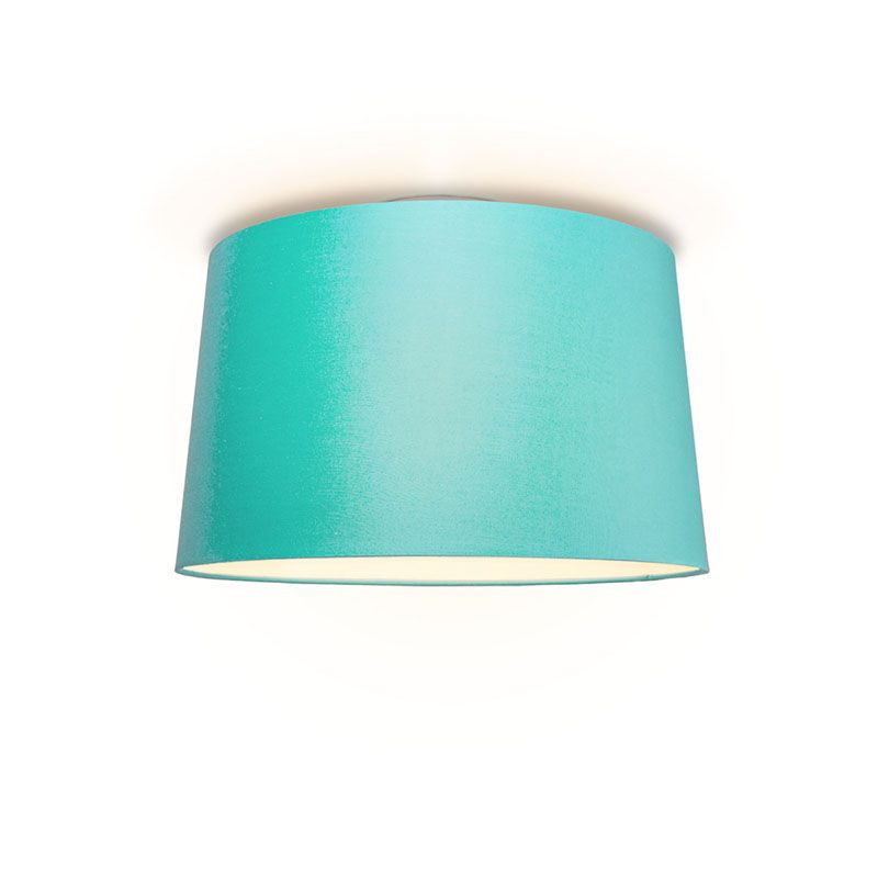 Plafonniere Ton rond 50 turquoise
