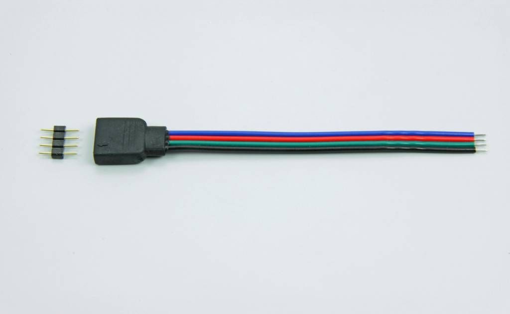 4 pin RGB connector, 10cm