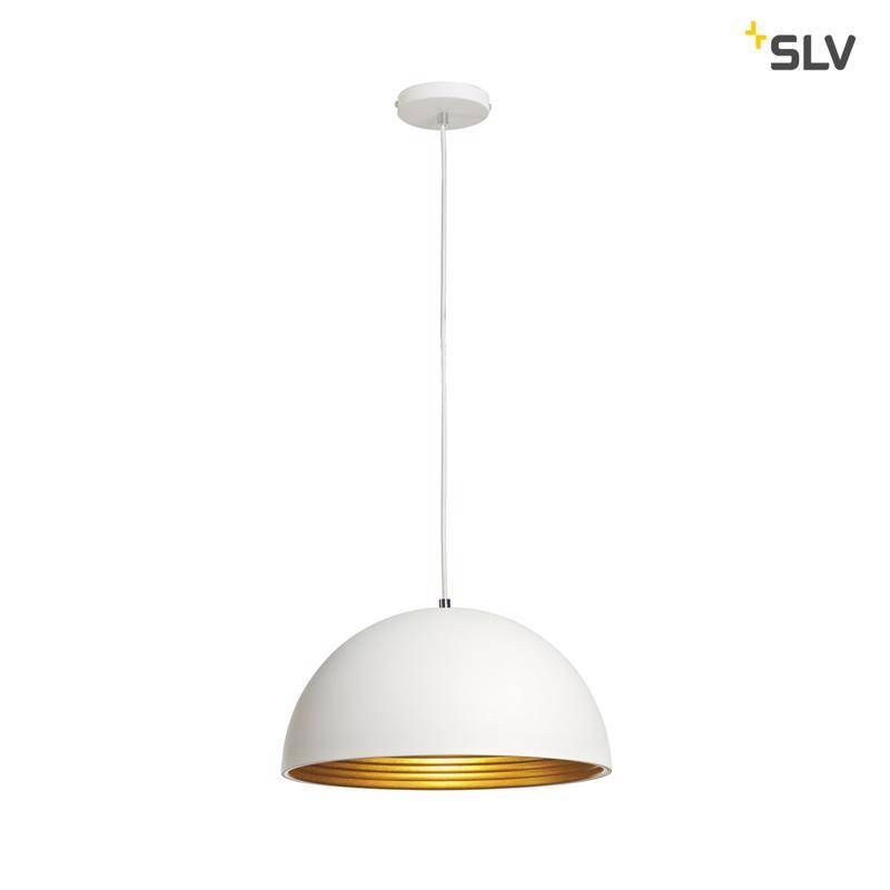 SLV Forchini M PD-2 wit / goud hanglamp