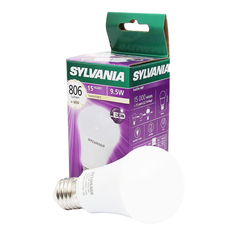 Sylvania standaardlamp LED mat 10W (vervangt 60W) grote fitting E27
