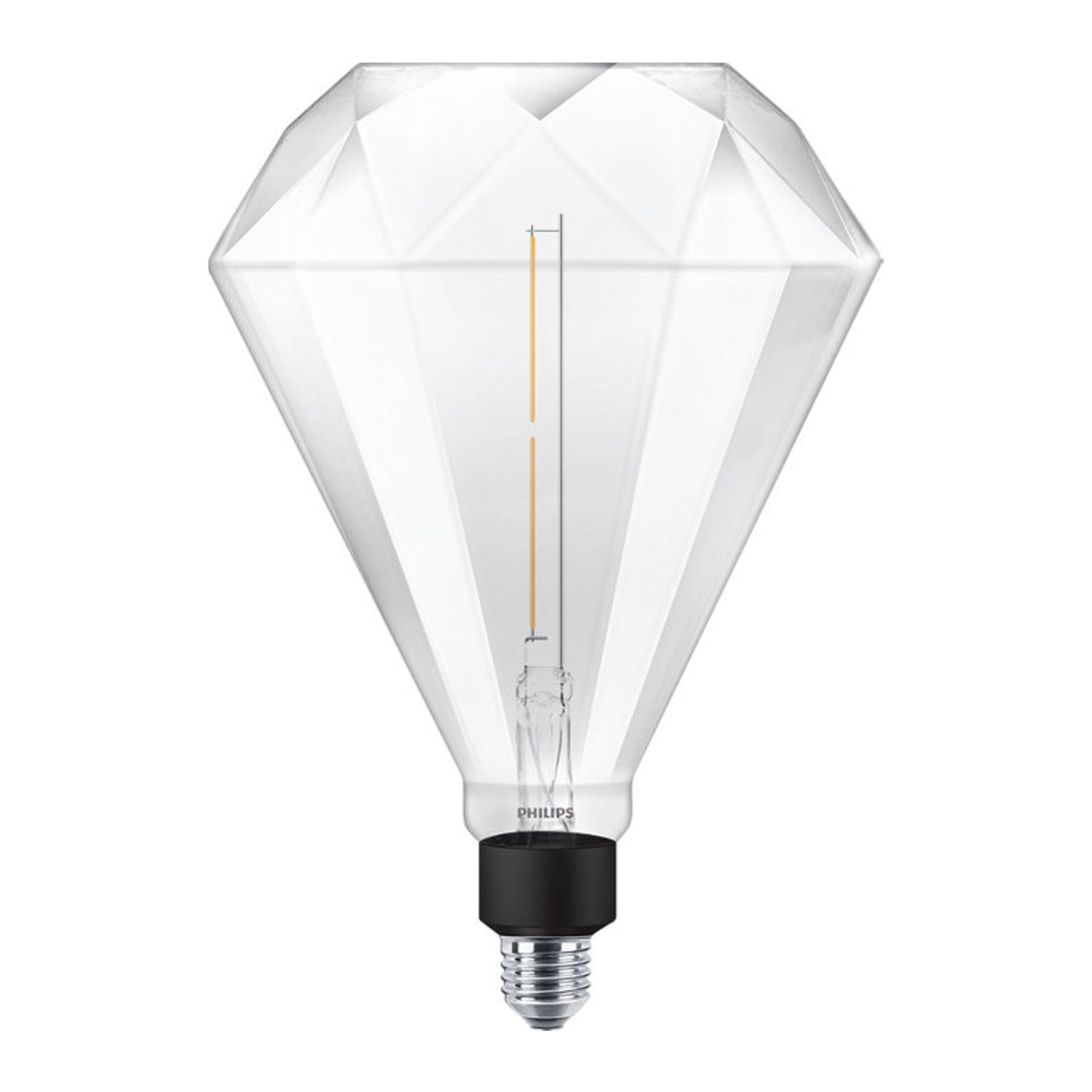 Philips LED Diamond Giant E27 4W 830 | Dimbaar - Vervanger voor 35W