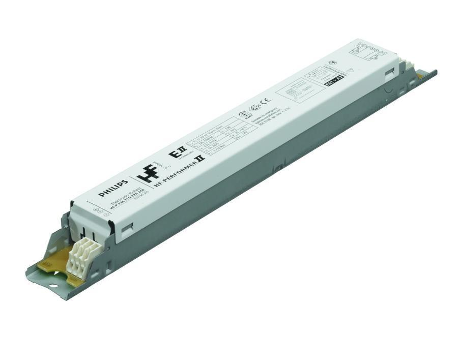 Philips HF-P 158 TL-D III 220-240V for 1x58W