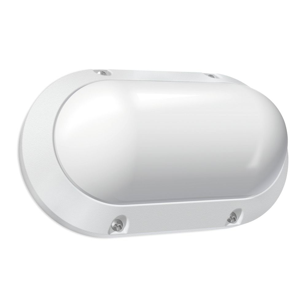 Budgetlight Blok Oval LED Wandlamp IP65 7W 840 550lm
