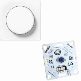 LED inbouw dimmer 891042 D-PAF200-LED met Jung AS500 dimknop