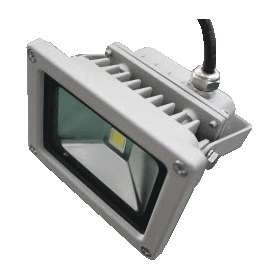 LED schijnwerper floodlight 10W koel wit ESR 24V 032325