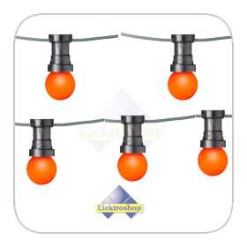 Oranje LED lamp lichtketting 30M