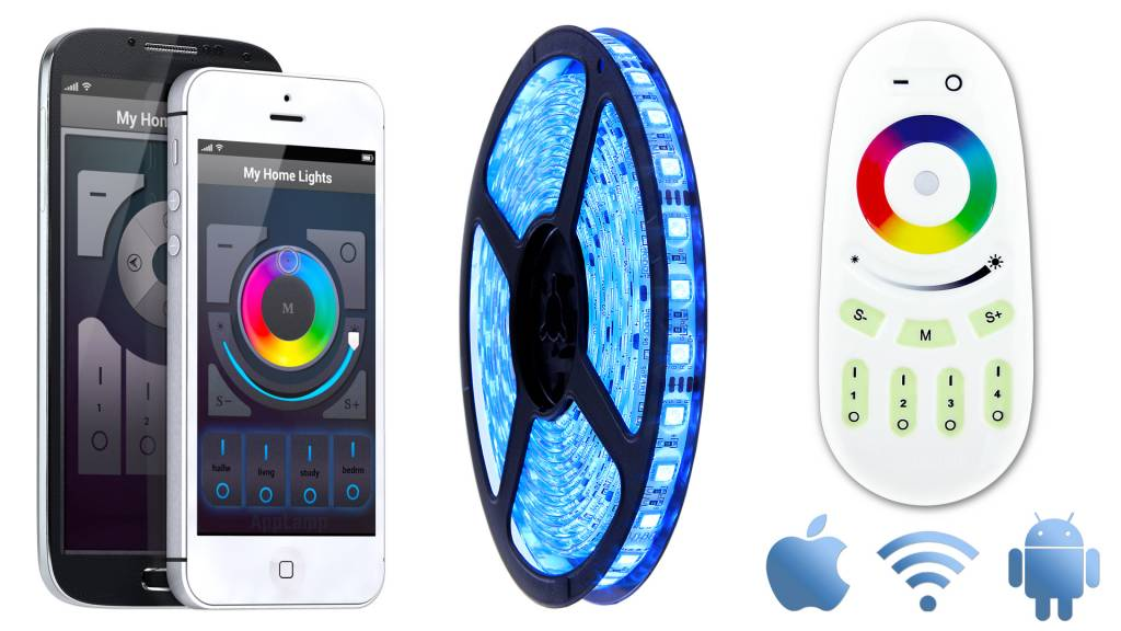 Wifi APP kit + Full Color RGB LED strip